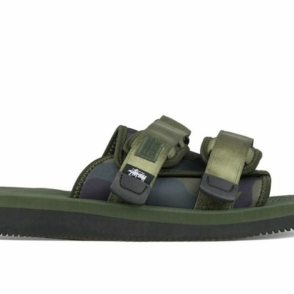 5c2f1eed1f5 Stussy x Suicoke camo slides sold out! Size 6 NWT